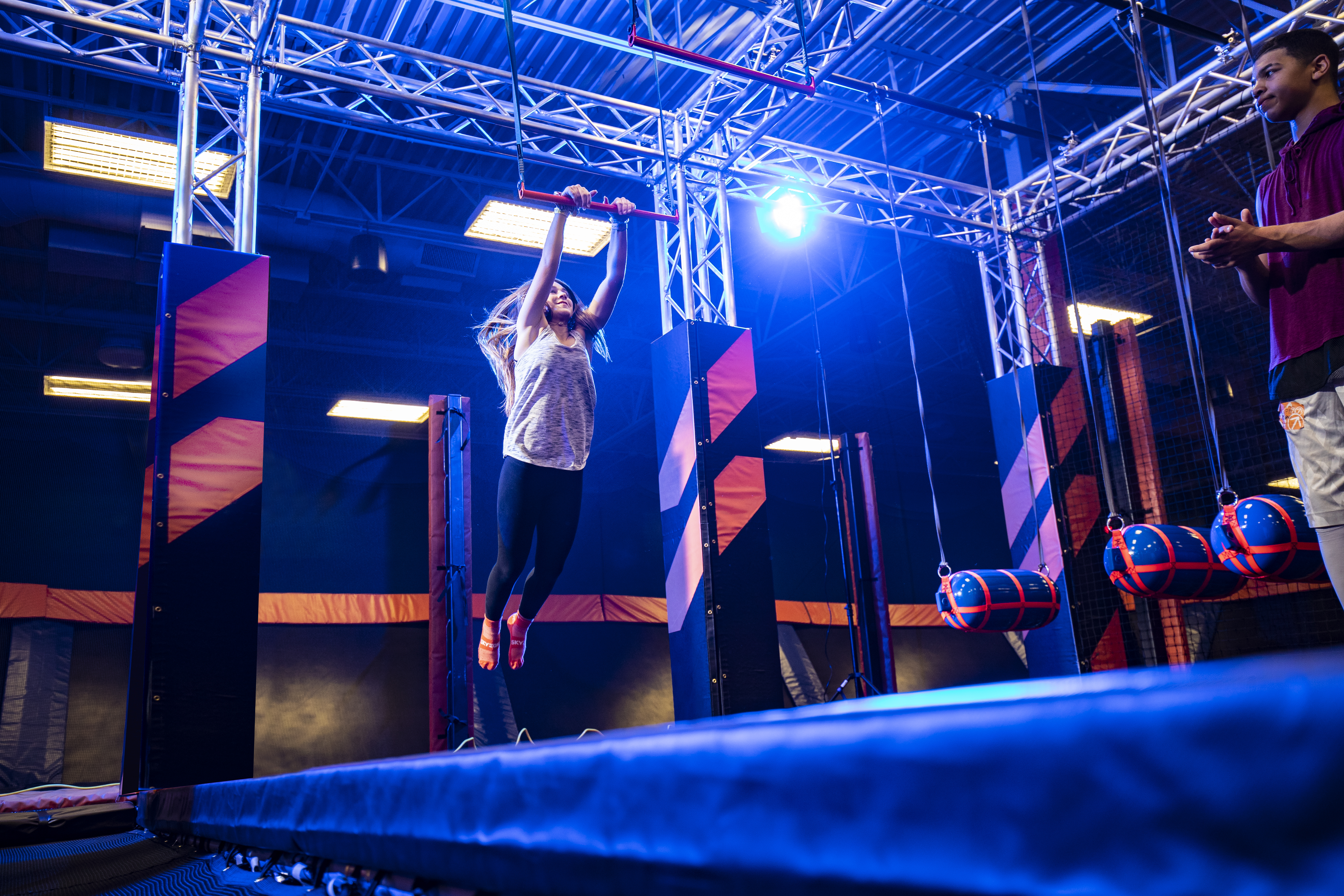 Channel Your Inner Olympian at Sky Zone